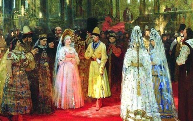 Первая брачная ночь в российских традициях