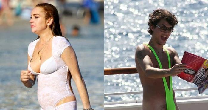 Самые нелепые пляжные наряды знаменитостей