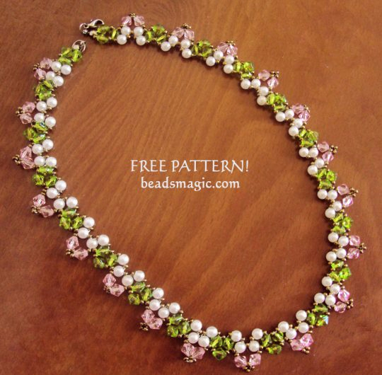 free-beading-tutorial-necklace-pattern-spring-1-540x530 (540x530, 256Kb)