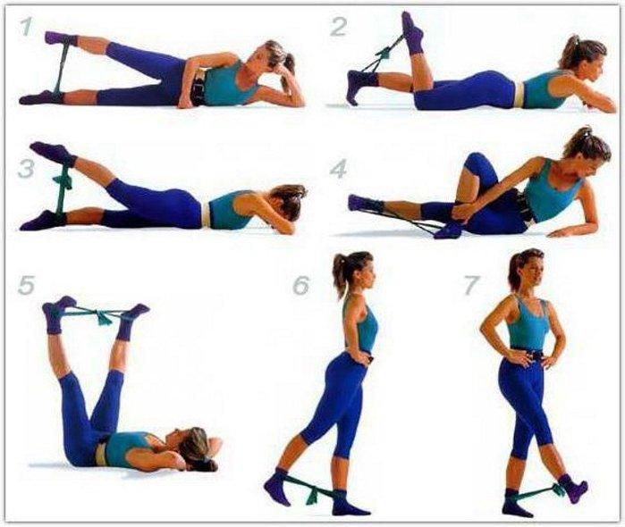 Какую делать зарядку чтоб похудели ноги