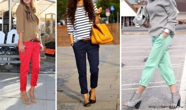 Модные брюки ЧИНОС. Как и с чем носить (2) (625x372, 135Kb)