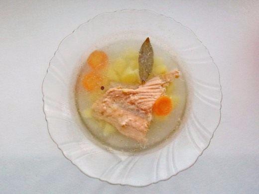 Как сварить вкусный рыбный суп из семги