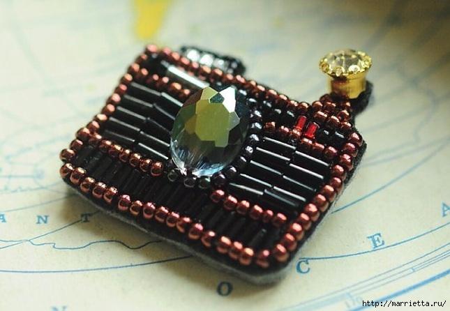 Интересные броши из фетра с вышивкой бисером (22) (645x446, 175Kb)