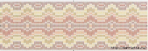 Флорентийская вышивка в технике барджелло (13) (500x173, 100Kb)