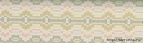 Флорентийская вышивка в технике барджелло (15) (496x151, 84Kb)