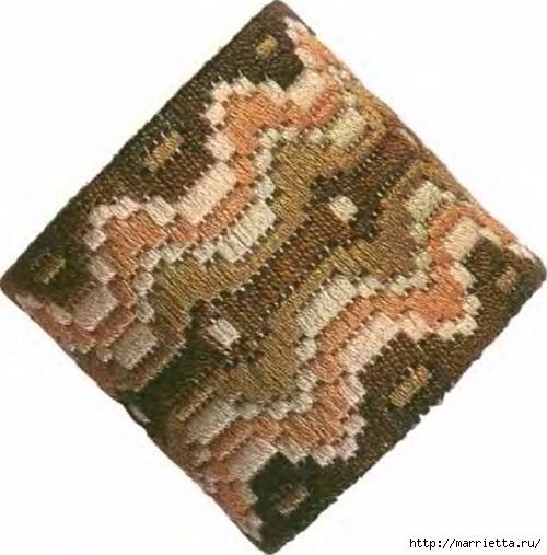 Флорентийская вышивка в технике барджелло (17) (500x507, 144Kb)