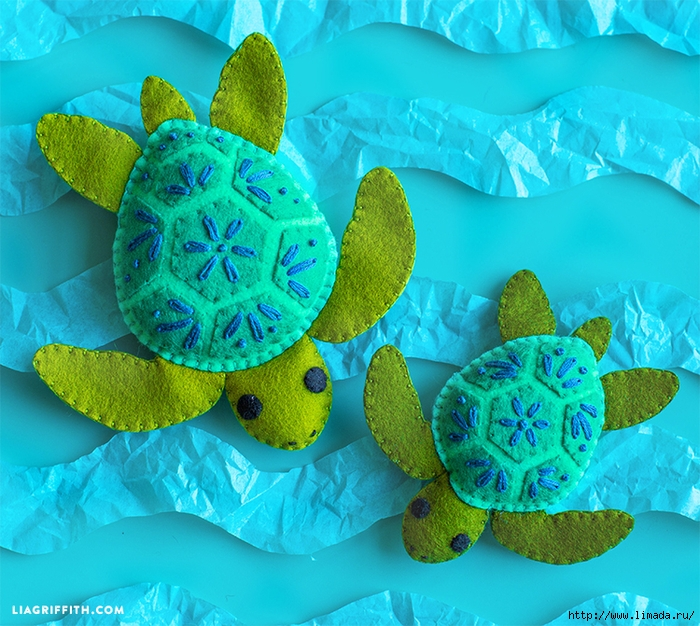 Felt_Turtle_Stuffies (700x626, 403Kb)
