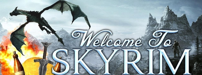 DIZ Welcome to Skyrim (700x262, 164Kb)