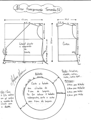 Выкройка блузки с запахом (2) (349x480, 76Kb)