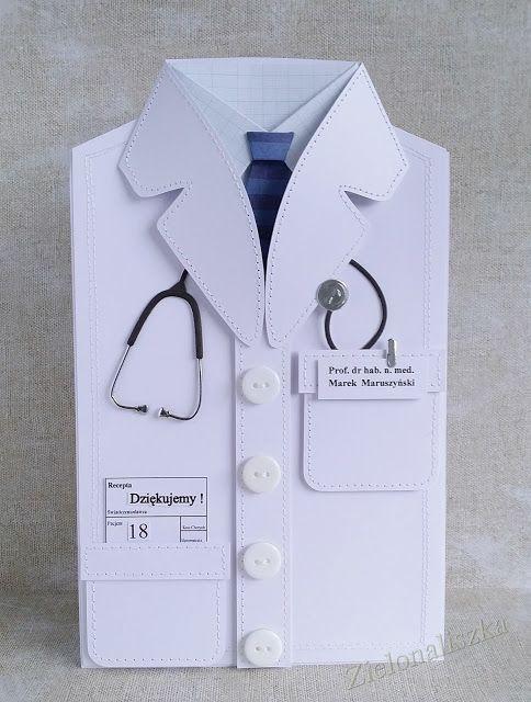 Открытка своими руками врачу