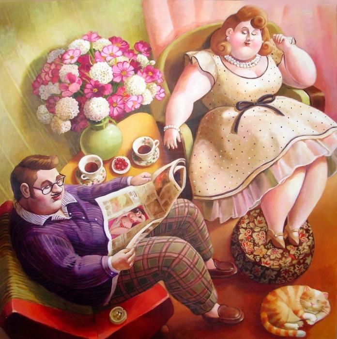день толстяка и толстушки картинки прикольные находится множество страниц
