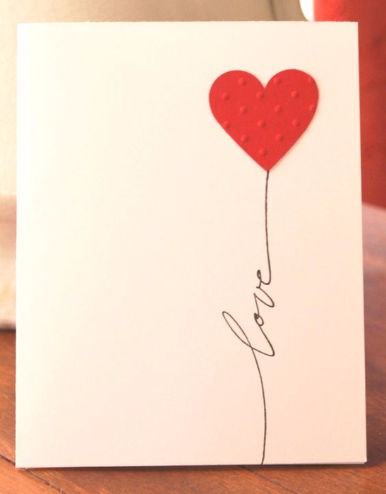 Как красиво сделать открытку для девушки