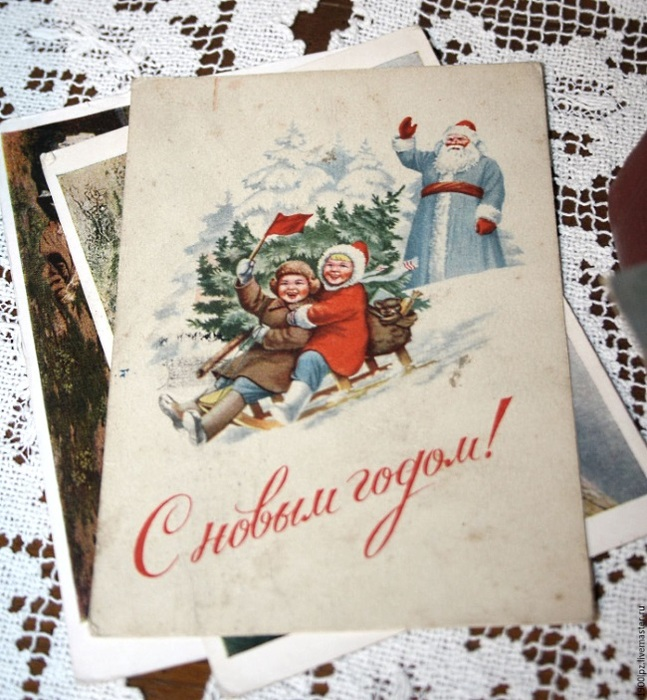 разделке описание советских открыток конструкции