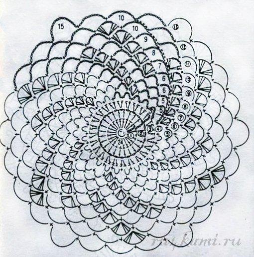 Свитер спицами с удлиненной спинкой Свитер, Вязанные