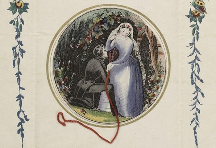Ические открытки 19 века, гифы квиты