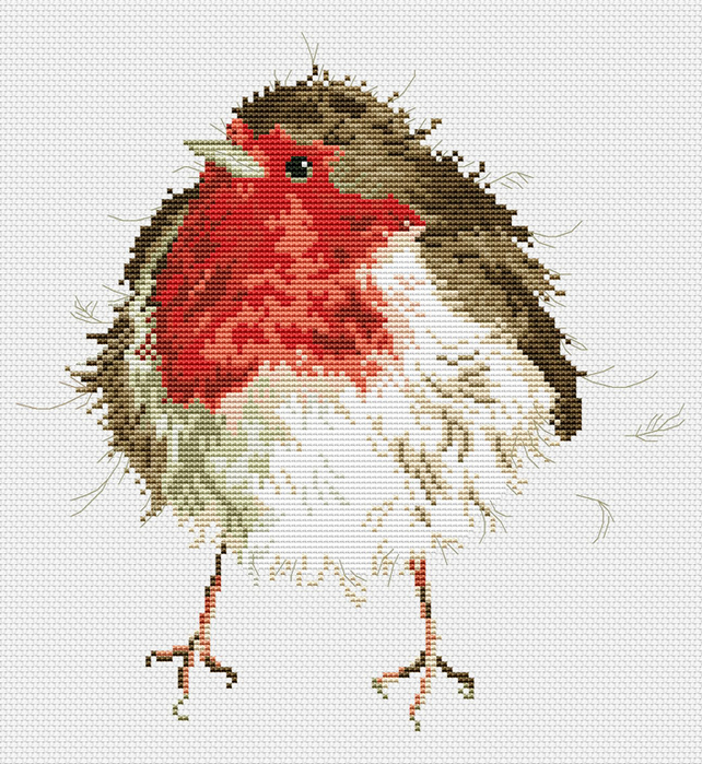 Jolly Robin (642x700, 527Kb)