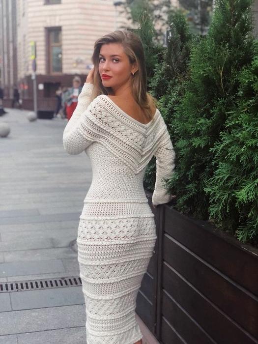 97c6c9aa186 коктейльное платье крючком - Самое интересное в блогах