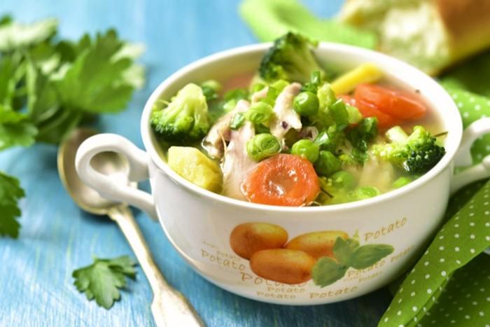 Легкий куриный суп с овощами: как приготовить вкусный домашний обед