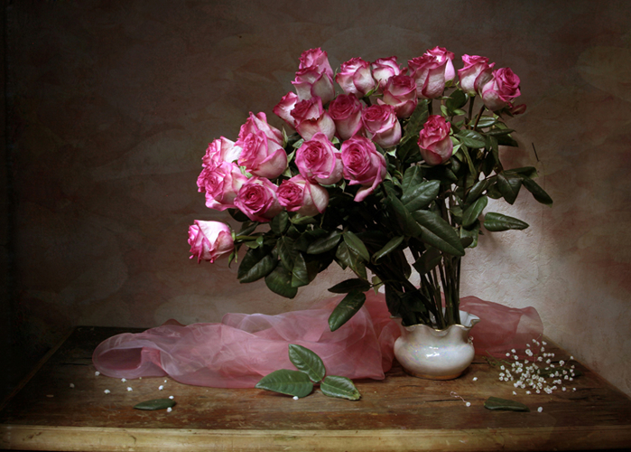 Bouquets_Roses_Vase_Foliage_Pink_color_547686_1280x915 (700x500, 413Kb)