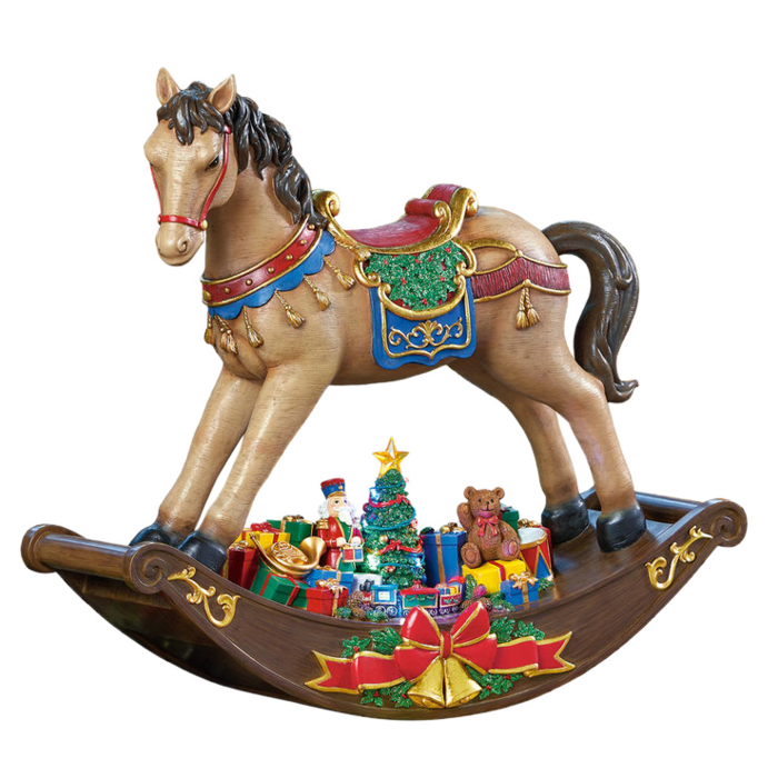 Christmas Rocking Horse (700x700, 493Kb)