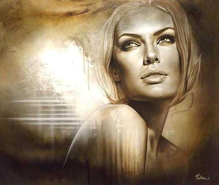 Канадская художница Sarah Fecteau1 (700x591, 312Kb)