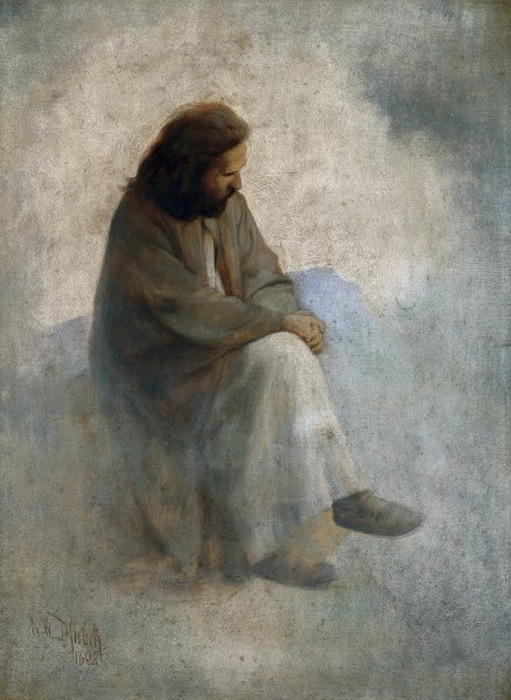 1892 Автопортрет als Einsiedler. (511x700, 111Kb)