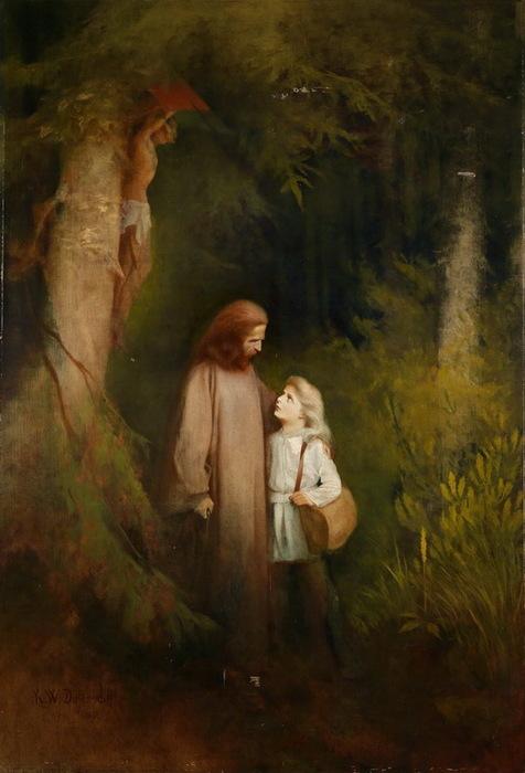 1892 Goodbye. Х, м.  223 x 152 см. (476x700, 87Kb)