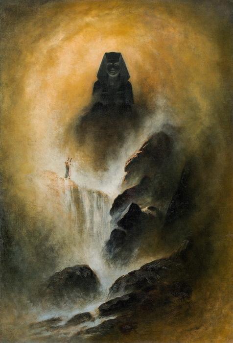 Сфинкс (Sphinx)_100 х 67_х.,м._Частное собрание (476x700, 106Kb)