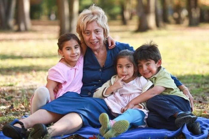 Женщины, которые родили детей в преклонном возрасте