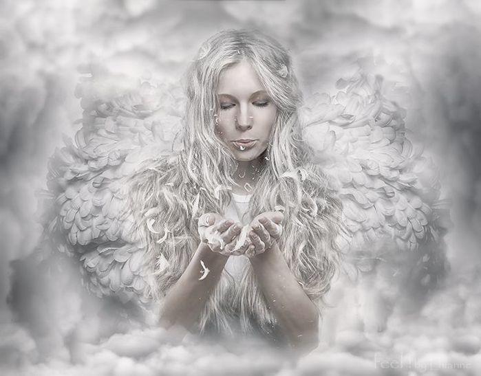 Ангелы картинки фотошоп, для мамы