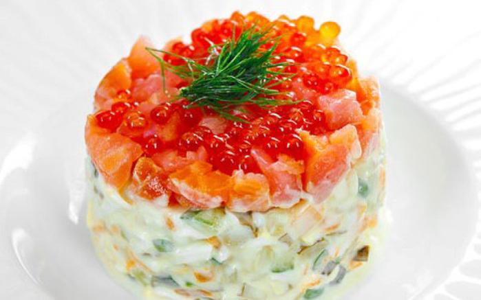 Салат на Принцесса Норвегии рецепт-картинка