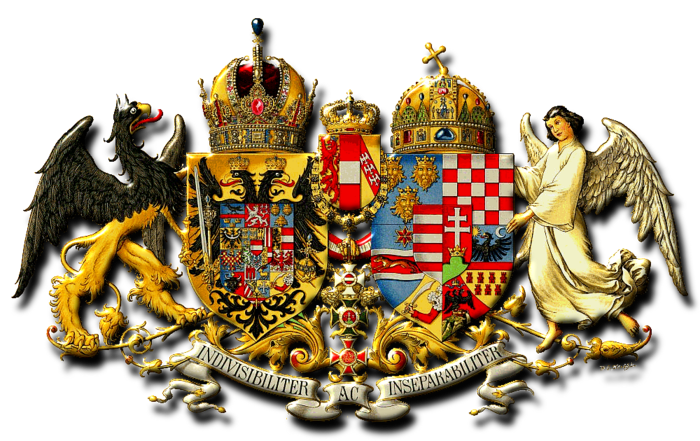 Coat of Arms - Austria-Hungary - Art of heraldry - Peter Crawford (700x441, 493Kb)