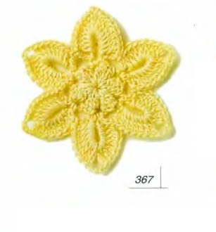 схемы вязания цветов самое интересное в блогах