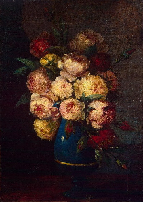 1864 Peonies-in-a-Vase (стр.45) (497x700, 138Kb)