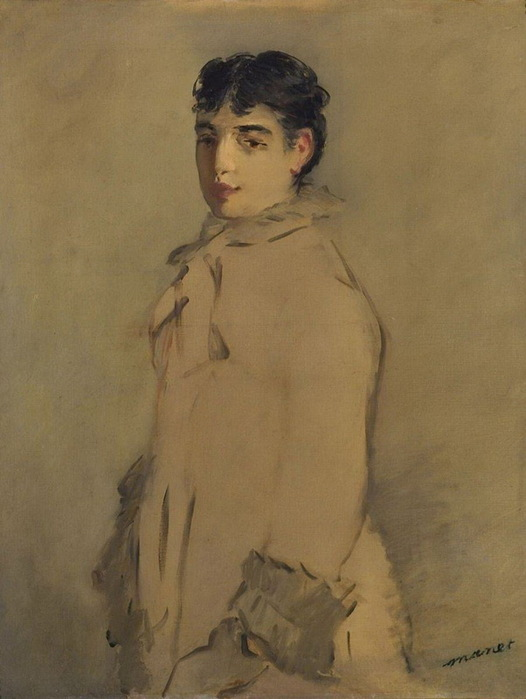 1870 к.-н.1880-е Портрет Розиты Маури. Х м  ГМИИ (526x700, 85Kb)