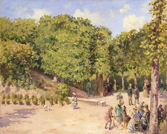 1873 Town-Park-in-Pontoise (с.159) (700x561, 215Kb)
