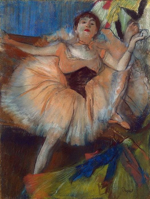 1879-1880 Seated-Dancer (стр.83) (527x700, 166Kb)