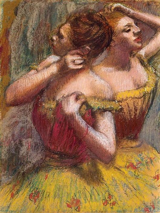 1898-1899 Two Dancers (стр.85-87) (529x700, 222Kb)