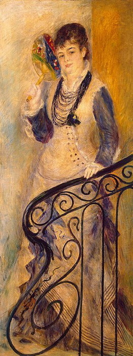 1876 Woman-on-a-Stair (с.88-95) (262x700, 99Kb)