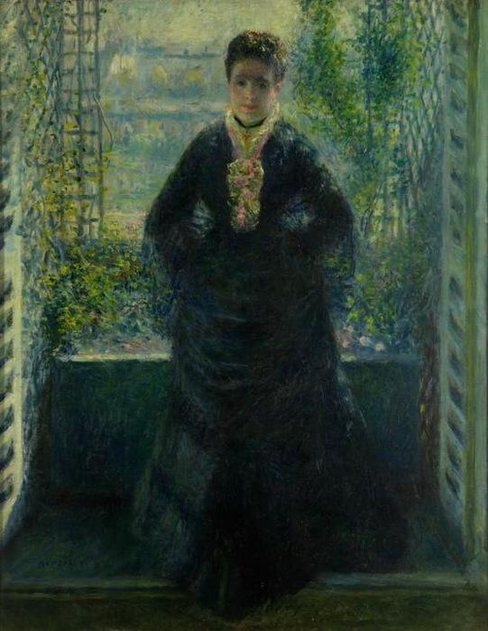 1876 Портрет мадам Шоке у окна. Х м  68,5x55 см. ГМИИ (541x700, 116Kb)
