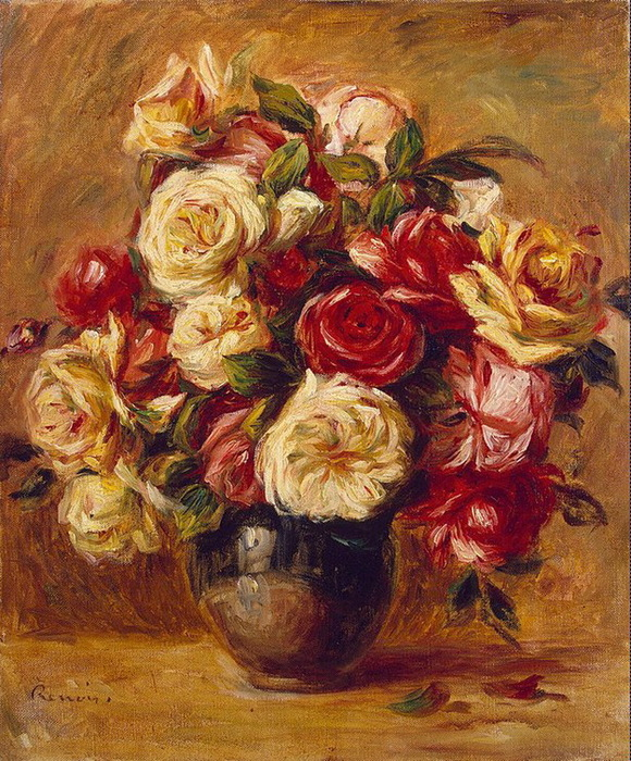 1909-1913 Bouquet-of-Roses (с.129) (580x700, 232Kb)