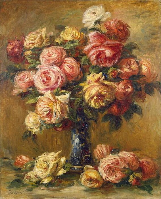 1910-1917 Roses-in-a-Vase (с.131) (567x700, 200Kb)