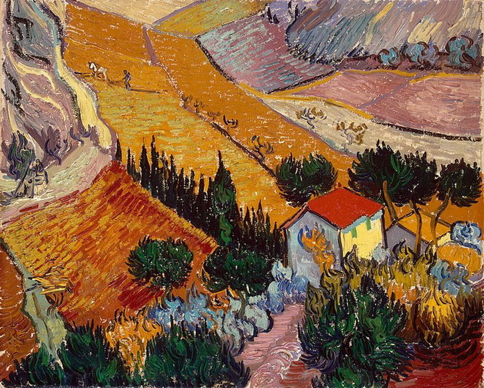 1889 Landscape with House and Ploughman (с.239) (700x561, 260Kb)