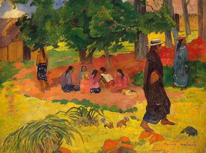 1892 Taperaa Mahana - Ранний вечер (с.231) (700x520, 196Kb)