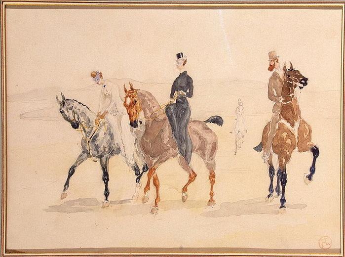 1880-е Riders (700x520, 131Kb)