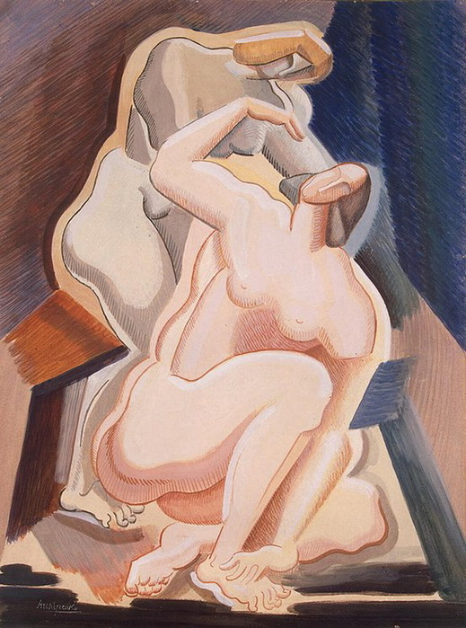 1923 Two-Nude-Female-Figures-1 (519x700, 144Kb)