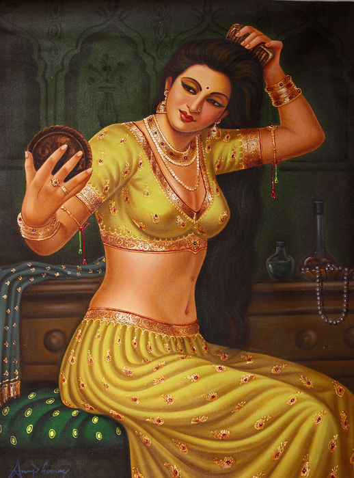 Anup Gomay - Indian artist - Catherine La Rose  (31) (518x700, 542Kb)