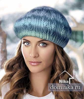 вязание на спицах шапки самое интересное в блогах