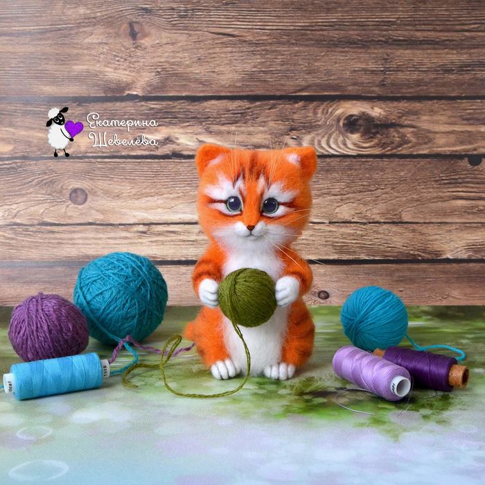 побелка картинки клубочки для котенка глаз союзник