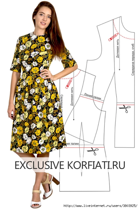Pattern-dress-with-floral-print-720x1086 (464x700, 198Kb)